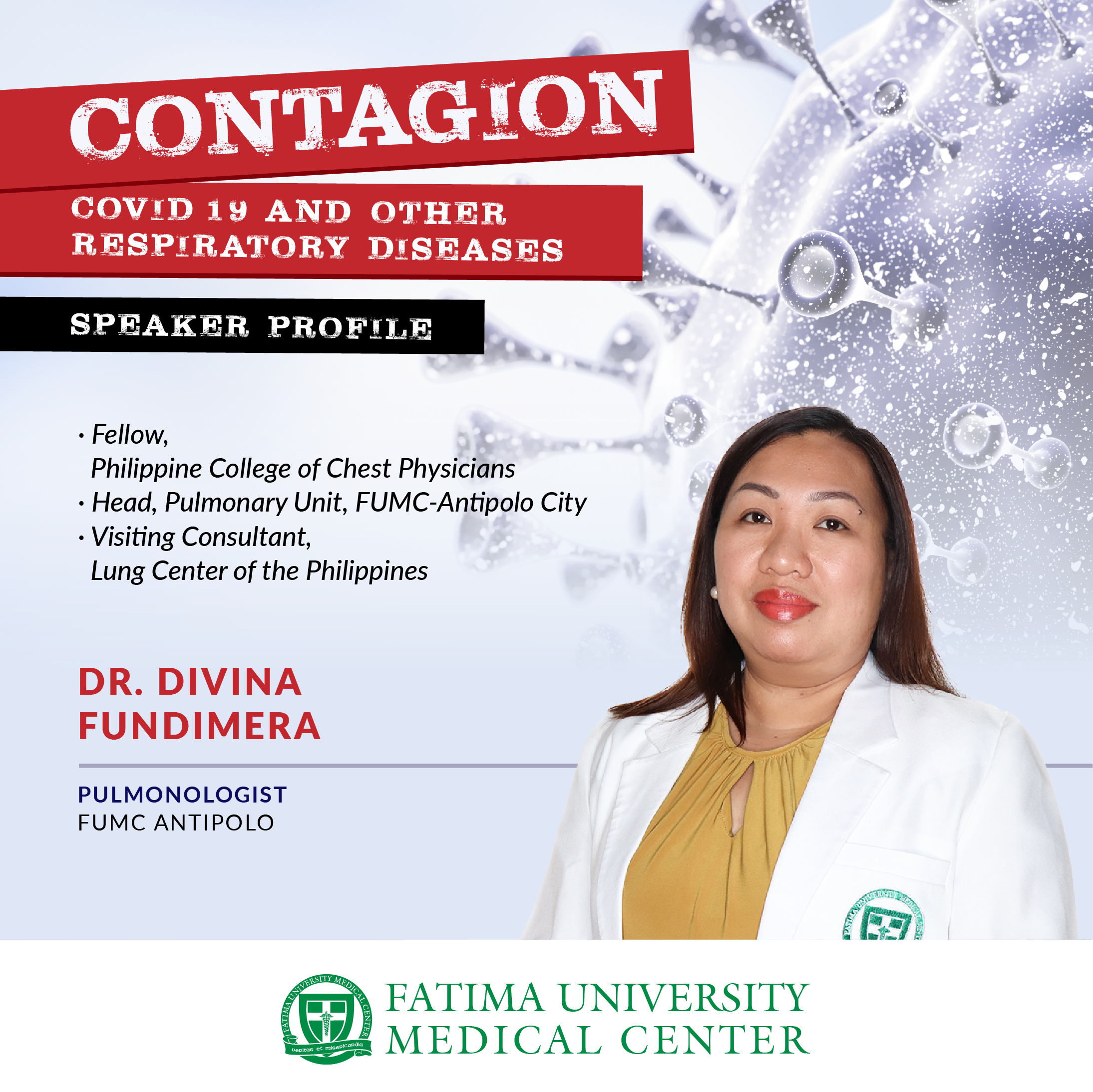 CONTAGION: COVID-19 and Other Respiratory Diseases
