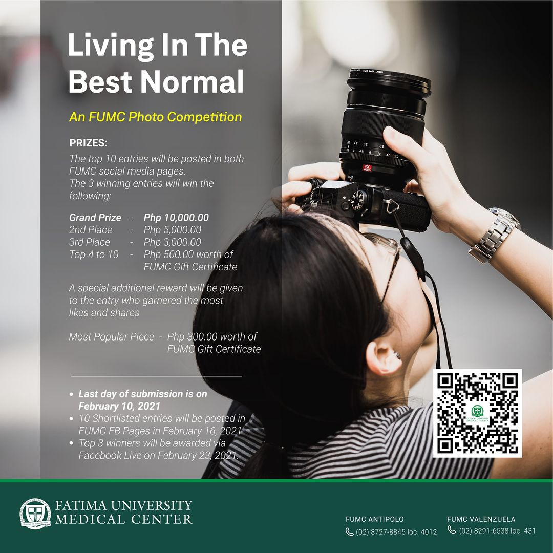 Living In The Best Normal: An FUMC Photo Competition